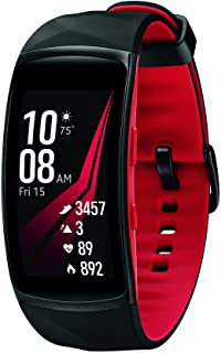 Samsung 三星 GEAR fit2 PRO 智能健身表 Diamond Red , SM-R365NZRNXAR – 美国版保修