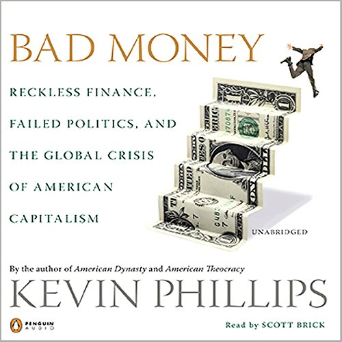 Bad Money audiobook cover art