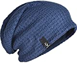 FORBUSITE Mens Slouchy Long Oversized Beanie Knit...