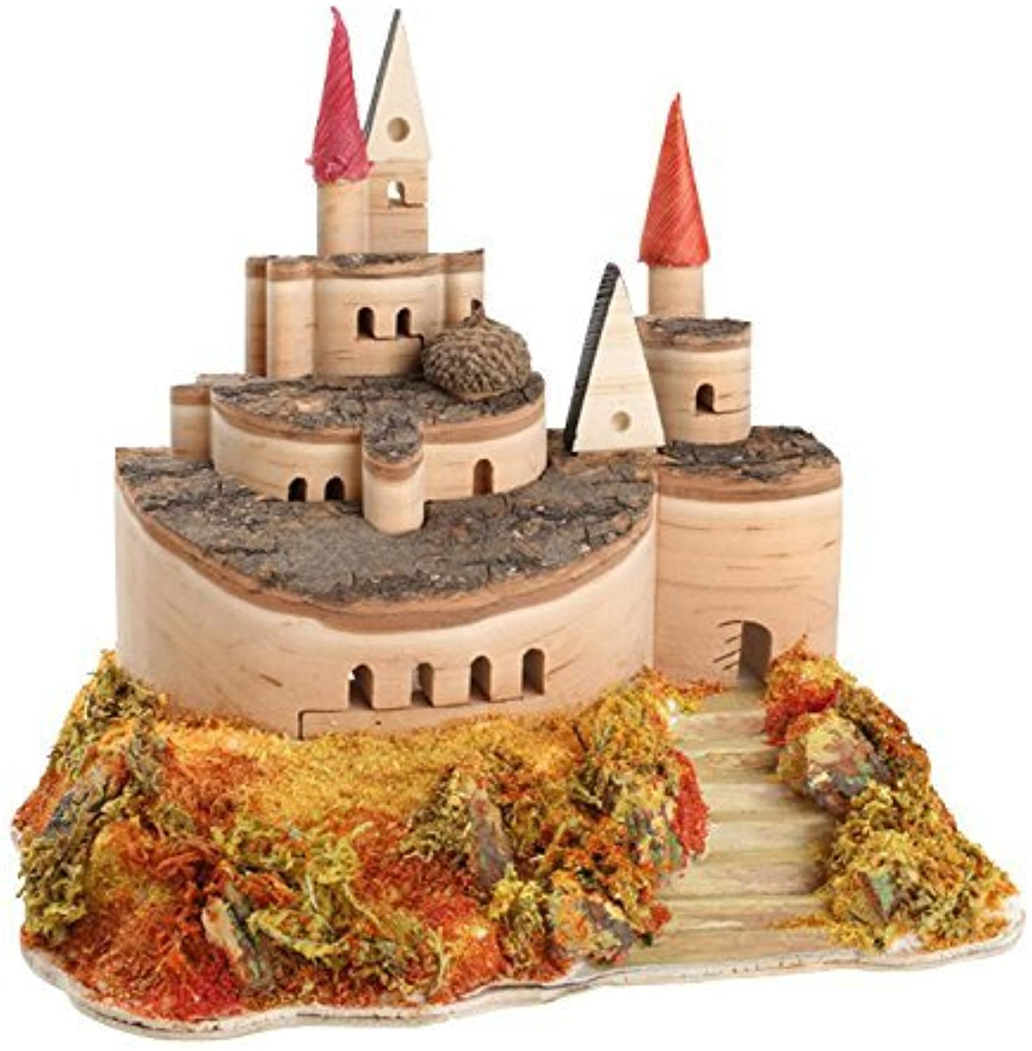 Legler Castle of Wood Courtyard Action Figure Playsets and Access by Legler