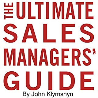 The Ultimate Sales Managers' Guide cover art
