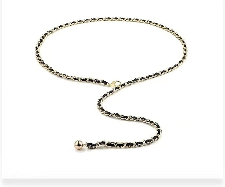 FANGLMY Weekly update Belt Gold Waist Chain Factory outlet Long for Cl Jeans Dress Women