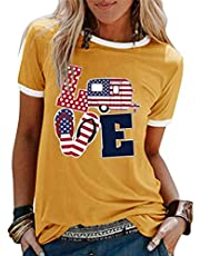 Briskorry – Camiseta para mujer, diseño de arco iris, manga corta, camisa, camisa, camisa, camisa, camisa, camisa, camisa, tops, estampado de veraniego