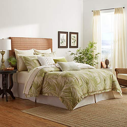 Save %28 Now! Tommy Bahama Canyon Palms Comforter Set, Queen, Green