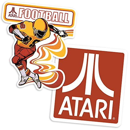 Popfunk Atari Football Video Game Collectible Stickers