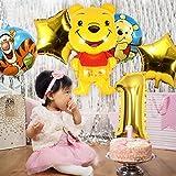 Zoom IMG-1 confezione da 6 palloncini winnie