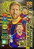 Panini Messi Excellence Balón de Oro Adrenalyn XL 2020-2021