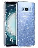 BENTOBEN Samsung Galaxy S8 Hülle Handyhülle Glitzer,