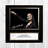 Demi Lovato 7 NDW Signed Reproduction Autographed Wall Art