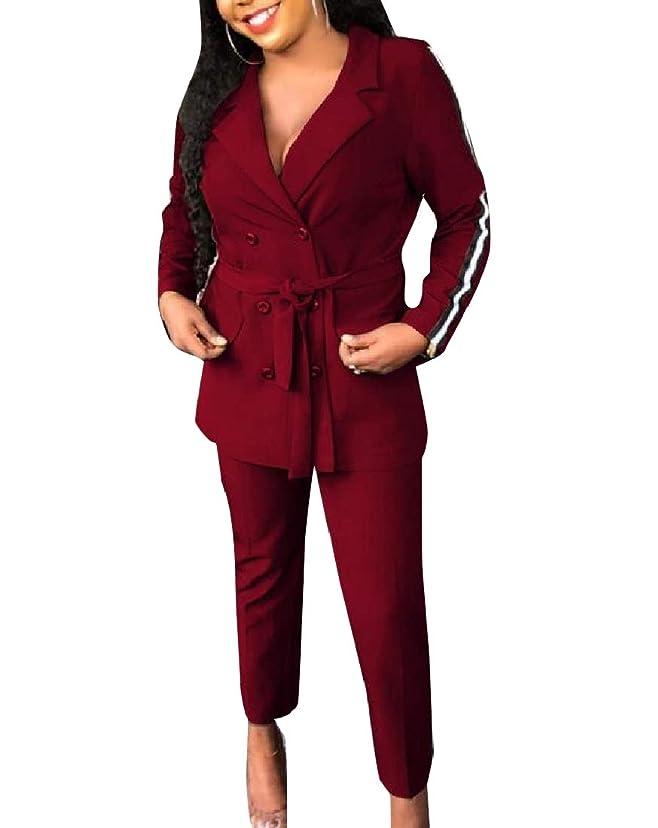 したい成功する時計回りNicellyer 女性ストラップキャリアクロップトップ+ロングパンツbodyconジャンプスーツ
