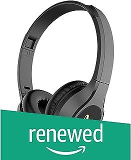 (Renewed) Infinity (JBL) Glide 500 Wireless On-Ear Dual EQ Deep Bass Headphones with Mic (Charcoal Black)