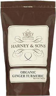 Harney & Sons Organic Ginger Turmeric, Bag of 50 Sachets