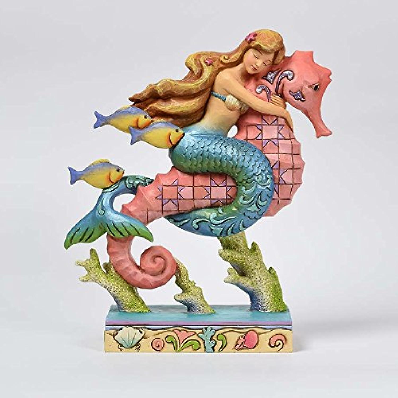 Jim Shore HWC by Enesco Mermaid Riding Seahorse Figurine 4057692