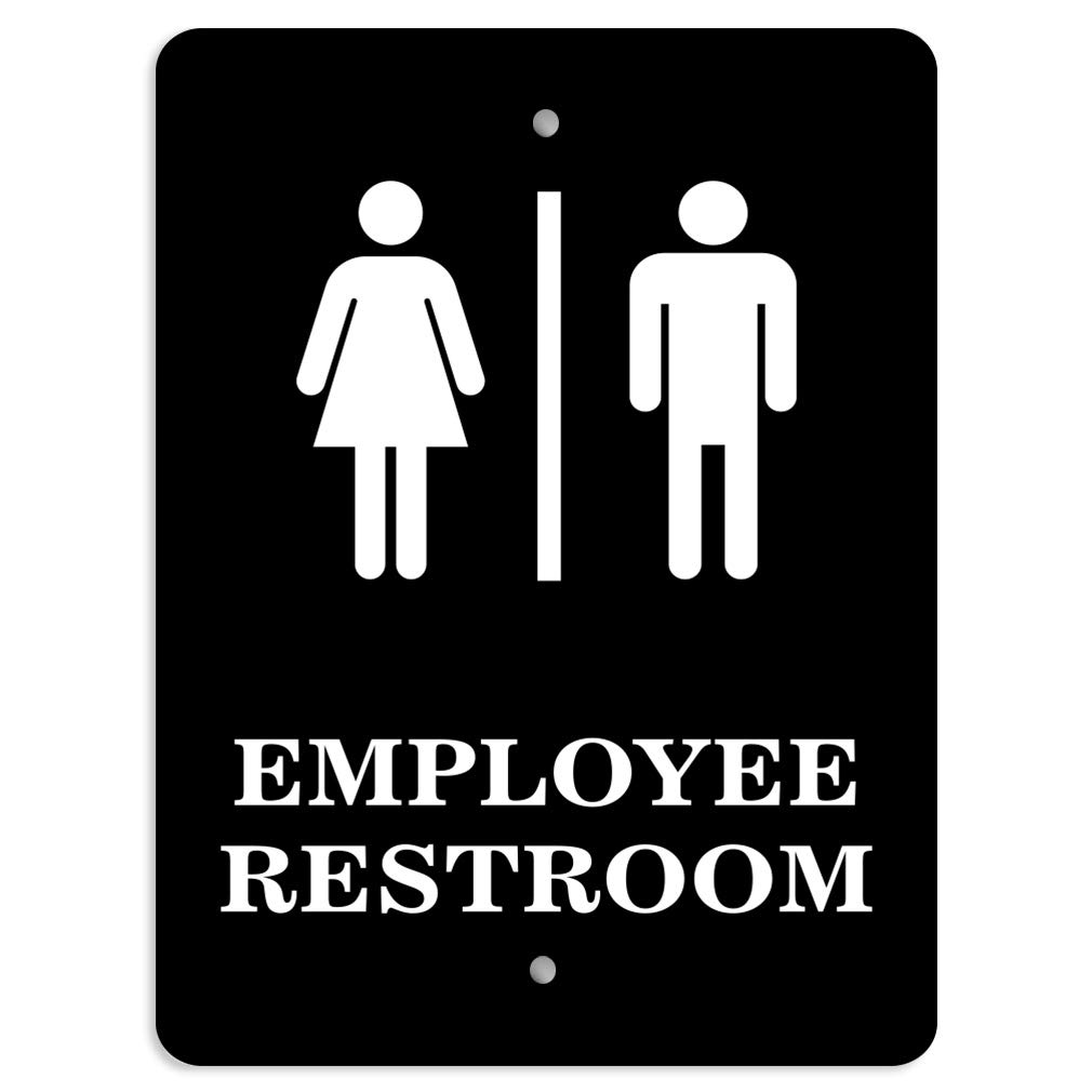 Details about  /Horizontal Metal Sign Multiple Sizes Walk-Ins Welcome Feature Department Black