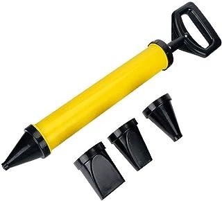 huyiko Pistola de calfitrar Cemento Bomba de Calor inyector de mortero pulverizador aplicador Herramientas de llenado de bultos con 4 boquillas