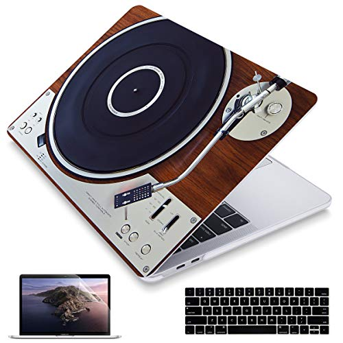 Maychen MacBook Pro 13 inch Case (2016-2019 Release) Models: A2159 A1989 A1706 A1708, Matte Hard Case Cover Compatible Newest Pro 13.3 inch with/Without Touch Bar and Touch ID - Retro Music