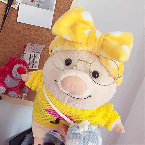 knuffels,Knuffels Voor Varkens, Schattige Schattige Lelijke Schattige Ins-poppen Voor Meisjes, Poppen Voor Kleine Varkenspoppen, Grappige Verjaardagscadeaus 25cm A
