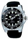 Kinetic Dive Watch Black Dial Strap - Intl model of SKA413