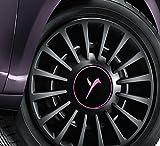 1Copa Tapacubos para Rueda Lancia Ypsilon 2011 15'Original Logo elefante rosa