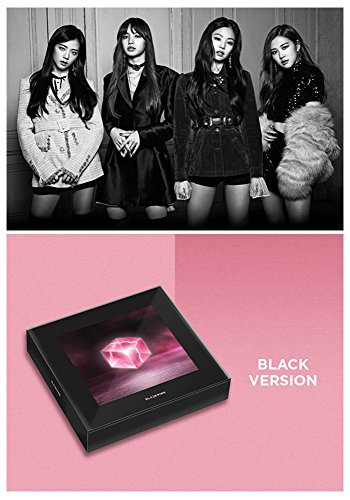 SQARE UP 1st Album BLACKPIN [Black Ver.] Music CD + Photo Book + Postcard + Photo Card + Selfie Photo Card Sealed