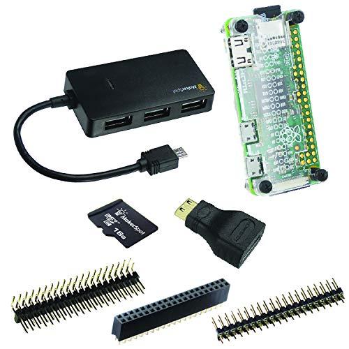 MakerSpot 7-in-1 Raspberry Pi Zero W Accessories Pack (no PiZero board)