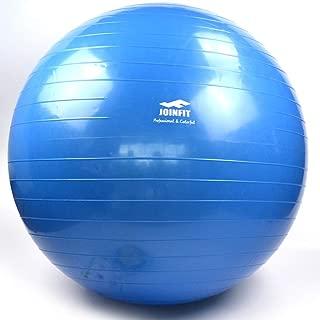 ヨガボール肥厚防爆フィットネスボール子供の感覚ボール妊娠中の女性はヨガボールを産む (色 : 青, サイズ さいず : 55cm)