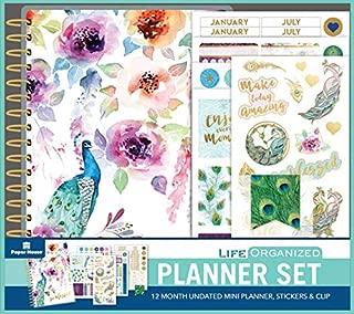 Best peacock paper planner Reviews