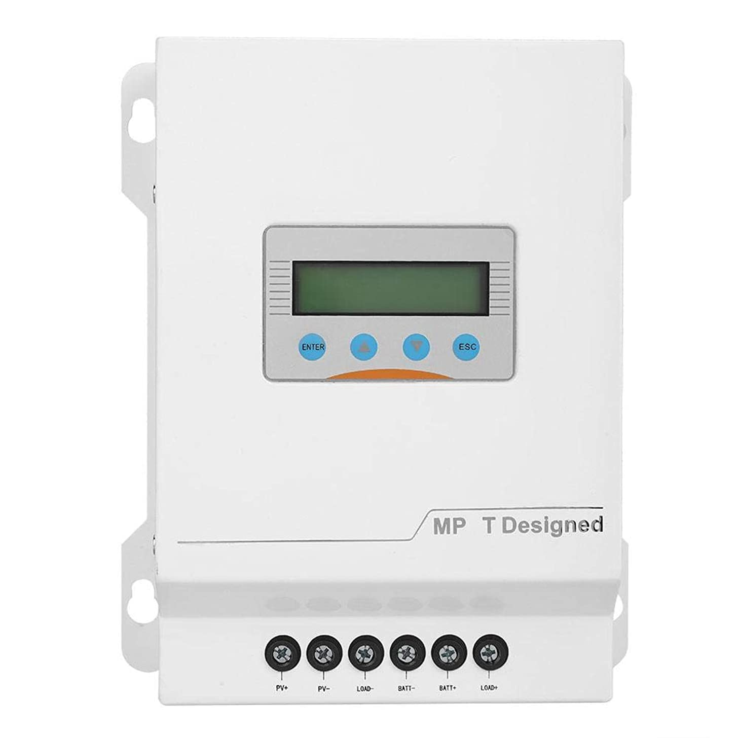 知恵セメントまでソーラーパネル充電コントローラー12V/24V/48V LCD DisplayMPPTソーラーレギュレーターモニター