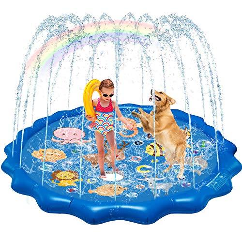 QDH Splash Pad Sprinklers for Kids …