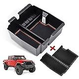 CreeKT Center Console Organizer Tray for Jeep Wrangler...
