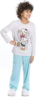 Conjunto de pijama Turma da Mônica