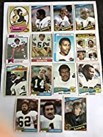 1970'S-1980's Topps New Orleans Saints Football Cards