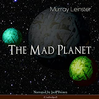 The Mad Planet audiobook cover art