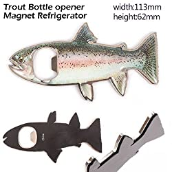 Rainbow Trout bottle opener