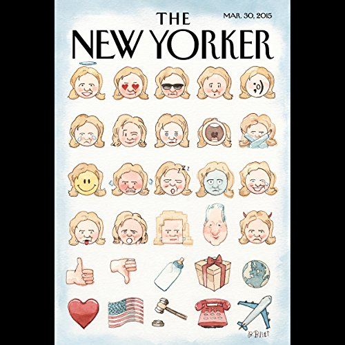 Couverture de The New Yorker, March 30th 2015 (Seymour M. Hersh, Daniel Zalewski, David Remnick)