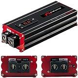 1 RENEGADE RX1800 power cap condensatore car audio 18 farad per impianti fino a 18000 watt rms 1 2 3 4 5 10 capacitor auto spl nero, 1 pezzo