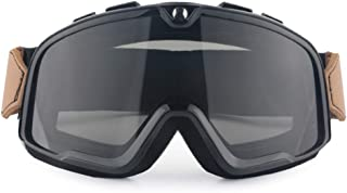 Goggles, Motorcycle Riding Glasses Unisex Windproof Dustproof Sand Goggles Card Card Myopia Glasses Anti-Fog Goggles