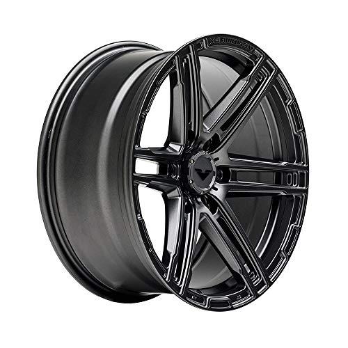 VENOMREX VR-602 20 Inch Flow Forged Wheel Compatible with 07+ Chevy Silverado 1500 & GMC, 03+ Lexus GX460/70, 6x5.5 (6x139.7) Bolt Pattern, 20x9 (+18mm Offset), 106mm Bore, Carbon Graphite - 1 PC