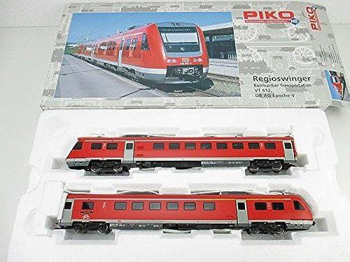 Nuevos productos de artículos novedosos. Piko 52200. Locomotora BR VT 612, 612, 612, DB AG Bombardier Transportacion. Escala HO  selección larga