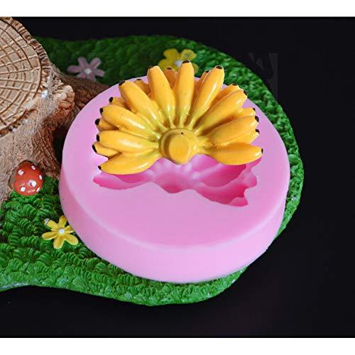 CSCZL Banane Praline Candy Jello 3D Silikonform Kuchen Werkzeuge Form Backzubehör