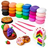 Artsity Air Dry Clay, 24 Color Modeling Set with 3 Sculpting Tools, Magic Foam Clay for Kids and Adults, Gift for Boys and Girls