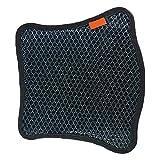 cuscino per sedile per moto, con raffreddamento ad aria in rete 3d per moto, imbottitura protettiva per moto, coprisella traspirante per moto, taglia m