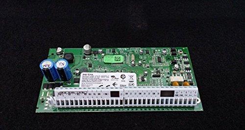 DSC Sistema de alarma de seguridad – Panel de control de alimentación PC1616 con teclado LED PC1555RKZ