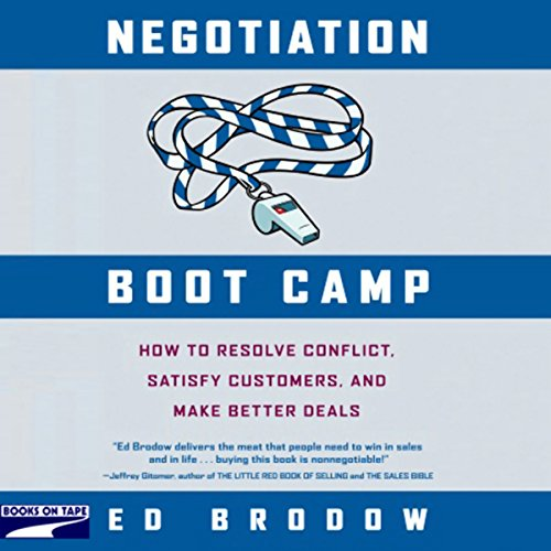 Negotiation Boot Camp cover art