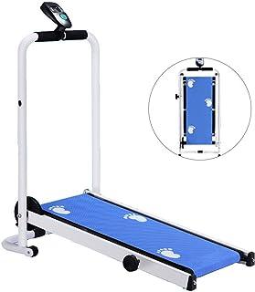Mechanical Treadmill Mini Folding Treadmill Household Walking Machine Without Electricity..