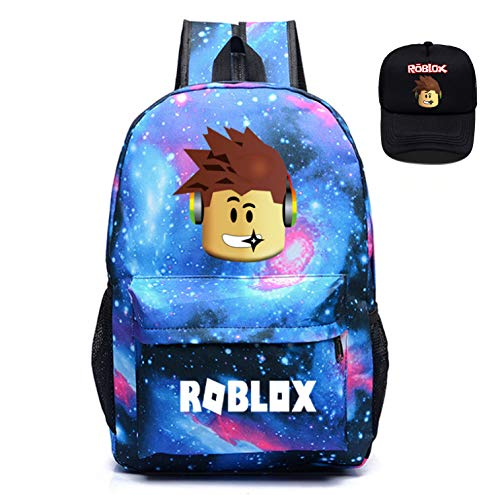 T-MIX Kids Roblox Canva Backpack Luminous Daypack-Roblox School Bookbag Laptop Backpacks for Boys Girls Kids Teenagers Game Fans Gift (Colour 3)