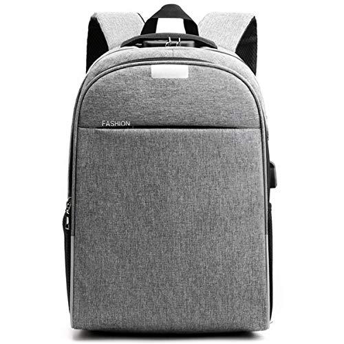 Men's Laptop Backpack, Anti-Theft USB Charging Port Backpack, Fashion Casual Student School Bag Mountain Bike Travel Backpack School Backpack