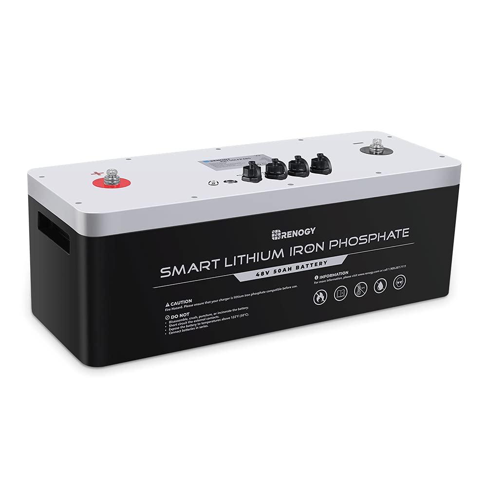 Renogy LiFePO4 Smart Lithium Iron Phosphate Battery