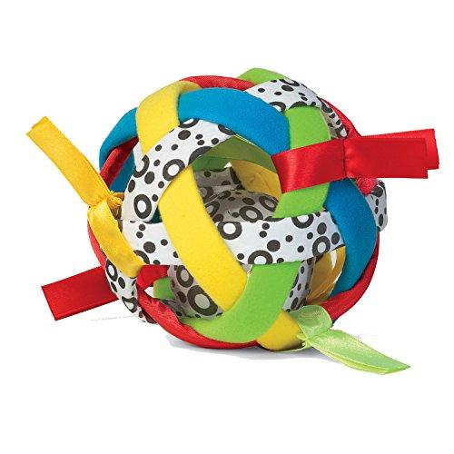 Manhattan Toy Sphère et hochet sensoriel Bababall