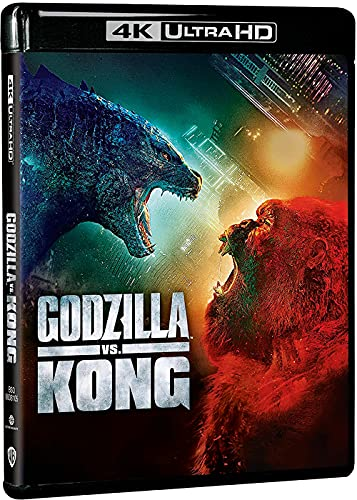Godzilla Vs Kong 4k UHD + Blu-ray [Blu-ray]